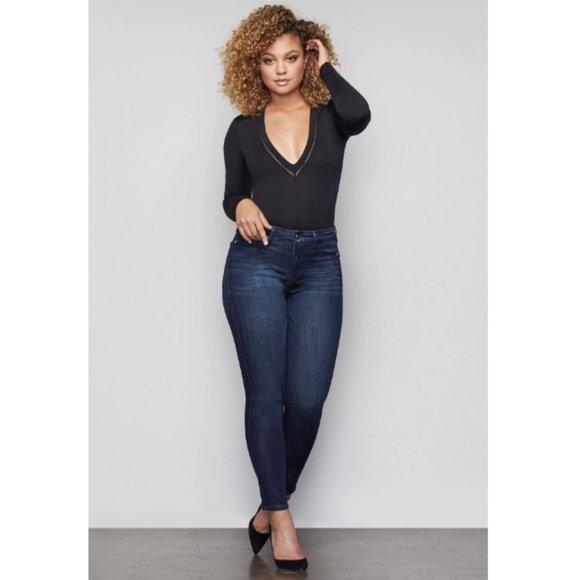 Good American Denim - Good American Good Waist Crop High Waisted Jeans